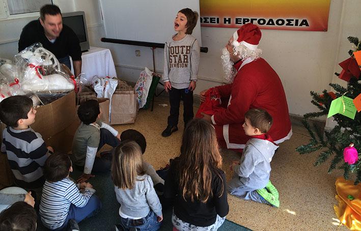 Χριστουγεννιάτικη Γιορτή στο Συνδικάτο