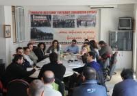 Συνεδρίαση της Πανελλαδικής Γραμματείας ΠΑΜΕ Επισιτισμού – Τουρισμού