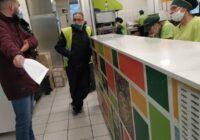Από την παρέμβαση του συνδικάτου στην πίτσα φαν στο Κερατσίνι ενάντια στην απόλυση συναδέλφισσας